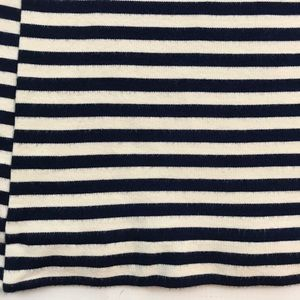 Madewell Dresses - Madewell Navy Blue and White Sweater Dress Sz S